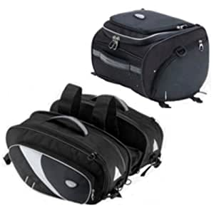 MOTORCYCLE PANNIER & TAIL PACK / SADDLE BAG LUGGAGE