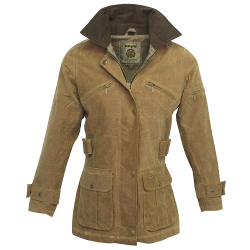 Toggi Women's Luella Wax Jacket - Tan, Medium