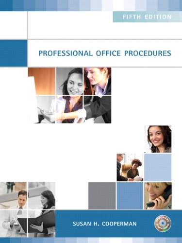 Professional Office Procedures (5th Edition)