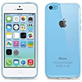 Apple iPhone 5C Clear Case, Case Army® Scratch-Resistant Slim Clear Case Soft TPU for iPhone 5C Hard Shell Back Soft Sides TPU Bumper Silicone Rubber Crystal Clear Cover (Limited Lifetime Warranty)