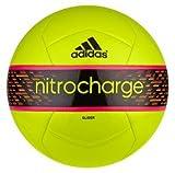 Adidas Nitrocharge Glider Soccer Ball Size 5 (SLIME/BLACK)