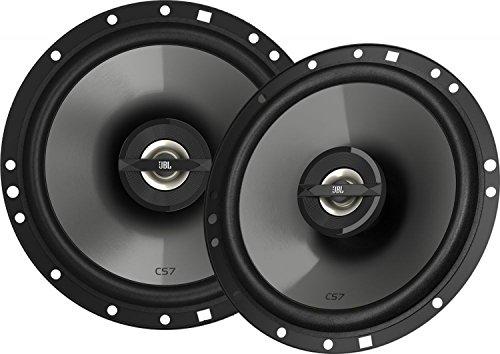 JBL-Car-CS7-Serie-6-12-165-mm-2-Wege-Auto-Hifi-Autolautsprecher-Koaxialer-Lautsprecher-1-Paar-mit-Plus-One-Woofer-Schwarz