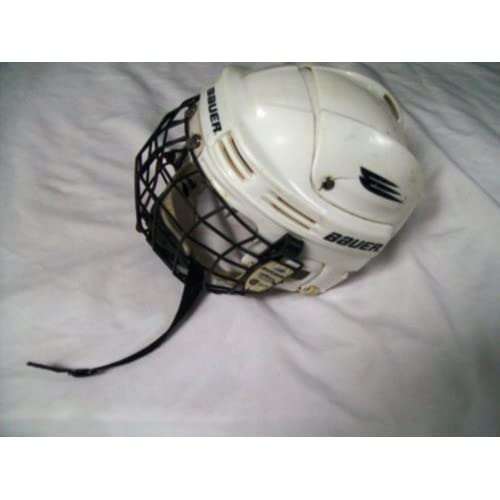 Amazon.com : Nike-bauer Hh1000xs White Hockey Helmet - No ...