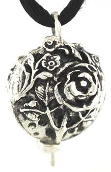 Flower Scent Locket Traditional and New Age Jewelry Collection