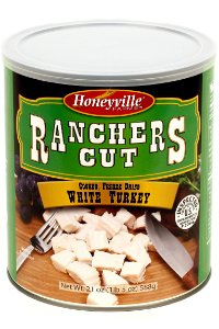 Freeze Dried White Turkey - 1.5 Pound Can by Ranchers Cut