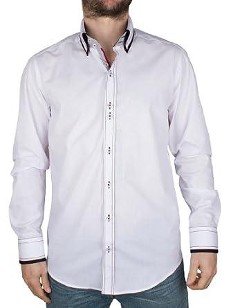 Guide London - White Fruity Smart Shirt - Mens - Size: XL