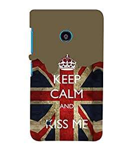 EPICCASE Kiss me Mobile Back Case Cover For Nokia Lumia 530 (Designer Case)