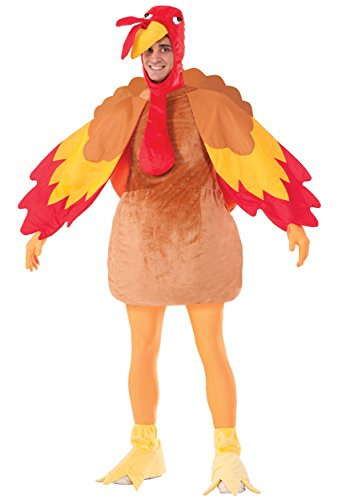 Gobbles Adult Turkey Costume