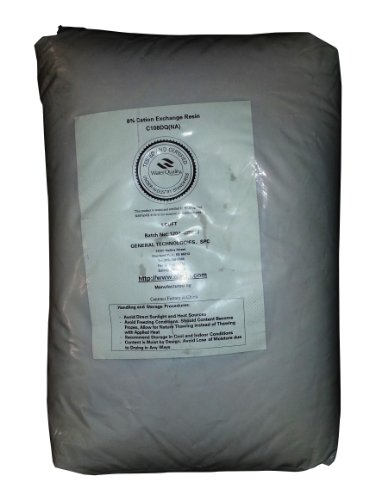 One (1) Cubic Foot Water Softener Ion-Exchange Resin 8% Crosslinked