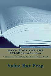 HAND BOOK FOR THE FYLSE June/October- A Jide Obi Law School book