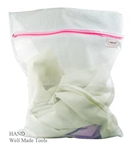 Dense Net, Delicate Wash Zipped Laundry/ Washing Fine Mesh Bags - 50x60cm, Buy 1 Get 1 Free Offer!