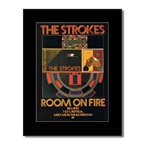 Strokes Room On Fire Matted Mini Poster 28 5x21cm