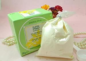Perlier Elariia White Tea Mineral Bath Soak with Italian Lemon - 7 Oz