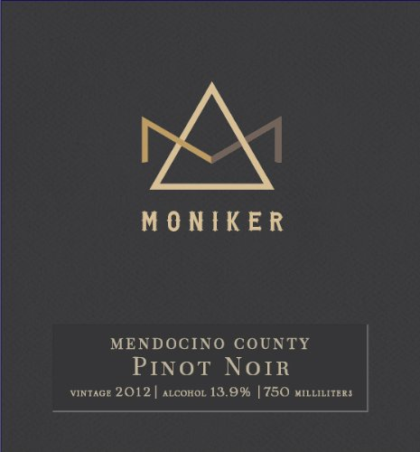 2012 Moniker Estates Mendocino County Pinot Noir 750 Ml