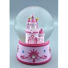 Princess Castle Water Globe