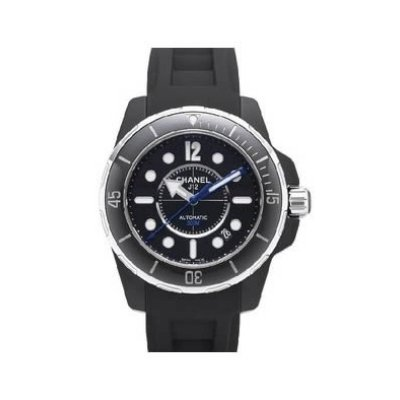 Chanel J12 Marine Automatic Black Ceramic H2558