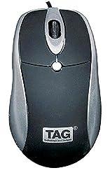 TAG USB Bravo Mouse (Silver)