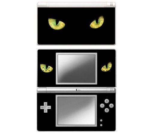 Cat Eyes Decorative Protector Skin Decal Sticker for Nintendo DS Lite