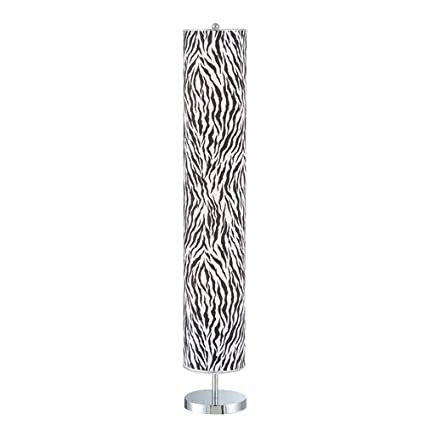 Zebra Print Lamp For Home Decoration