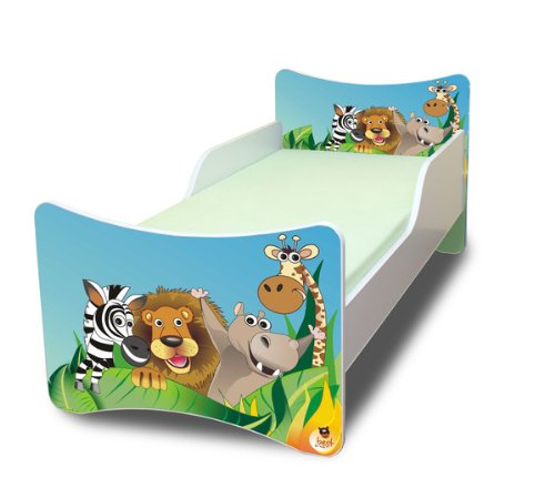 BEST FOR KIDS LIT POUR ENFANT 90x200 - ZOO