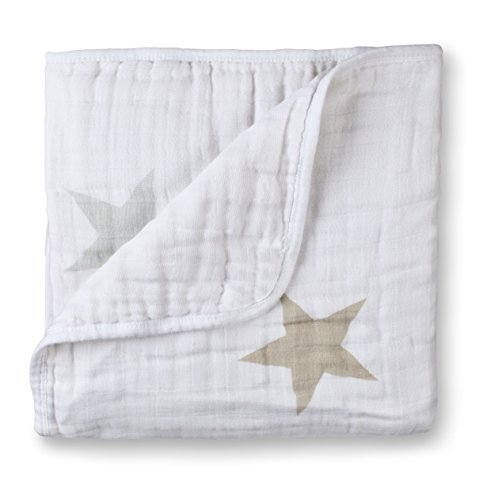 Lowest Prices! aden + anais Classic Dream Blanket, Super Star Scout