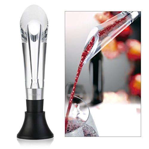 OUNONA Aérateur de Vin Wine Aerator bec Verseur Vin Décanter le Vin avec élégance et simplicité