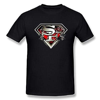 Jasmincc Men's San Francisco 49ers & Superman Logo T-shirts