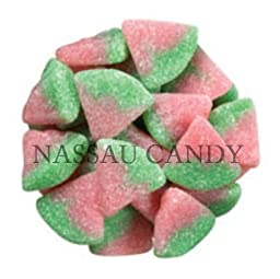 Nassau Sour Watermelon Slices Candy, Pack Of 6 Pound