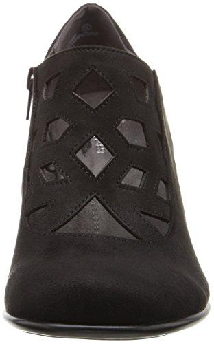 Aerosoles Women's Petroleum Boot, Black Fabric, 8.5 M US
