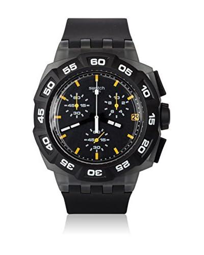 Swatch Orologio al Quarzo Man BLACK HERO SUIB414 42 mm