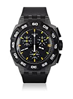 Swatch Reloj de cuarzo Man BLACK HERO SUIB414 42 mm