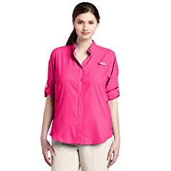 Columbia Sportswear Ladies Plus-Size Tamiami II Long Sleeve Shirt by Columbia