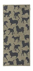 Hug Rug Dirt Trapper Door Mat Runner 65 x 150cm - Dogs and Dogs Pet 30 by Hug Rug