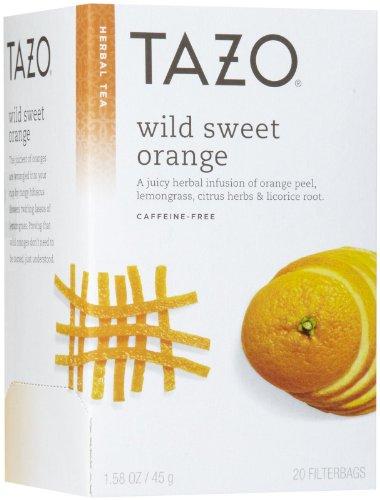 Tazo Wild Sweet Orange Herbal Tea, 20 ct