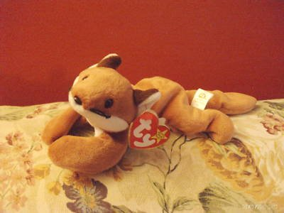 VINTAGE BEANIE BABIES SLY BORN SEPT 12 1996 W TAG