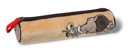 Imagen principal de Nici 33072 Wild Friends - Estuche de peluche diseño Elefante, 20 x 5,5 x 4,5 cm