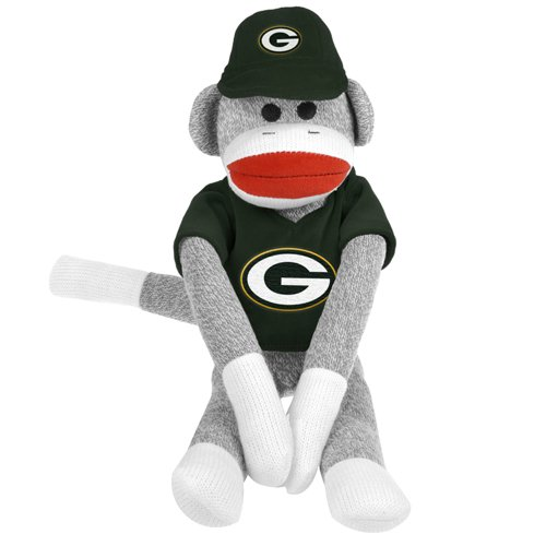 BSS - Green Bay Packers NFL Plush Uniform Sock Monkey at Amazon.com