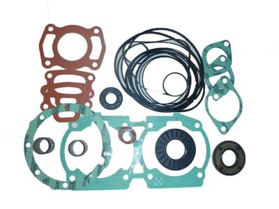 Seadoo 717 720 cc White & Silver Engine Complete Gasket Kit WSM PWC 007-623 mr gasket 6324 valve cover stud kit