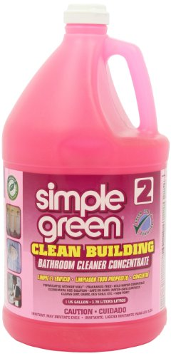 Simple Green 11101CT Clean Building Bathroom Cleaner Concentrate, Unscented, 1gal Bottle (Commercial Bathroom Cleaner compare prices)