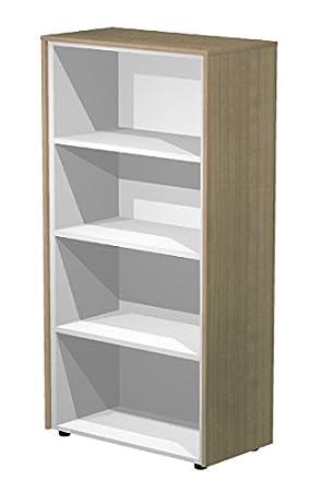 MOBILE ALTO A GIORNO COMPLETO DI TOP E FIANCHI FINITURA CM. 82,8x43x158,2h - Serie Direzionale FLORA