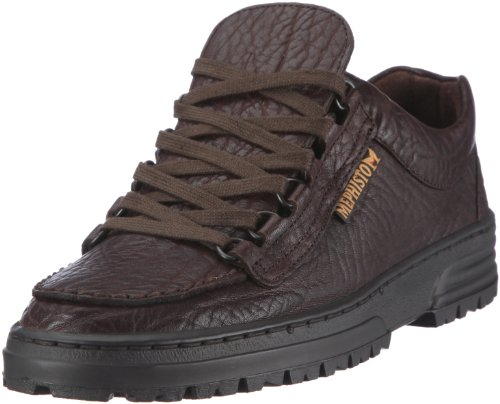 Mephisto - Scarpe basse stringate, Uomo, Marrone ( DARK BROWN MAMOUTH 751), 45