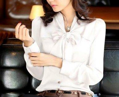 Amazon.co.jp: ボウタイブラウス シャツ レディース: 服&ファッション小物通販