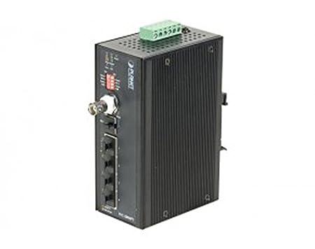 Planet switch indust 4 Ports PoE - 1 VDSL2 BNC+RJ11 -45°/+75°