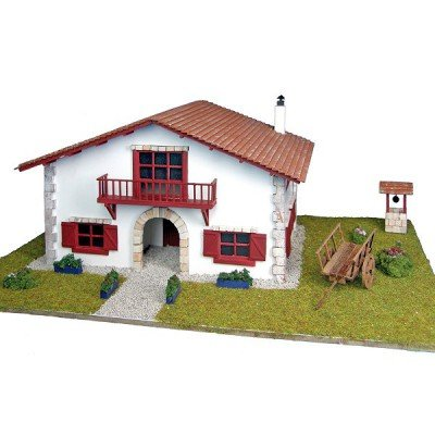 Maison en kit - Country collection : Maison Biarritz avec puits et charrue