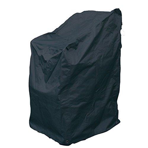 Robuste Schutzhülle für Gartenstühle Stapelstühle aus starkem Polyestergewebe anthrazit günstig online kaufen