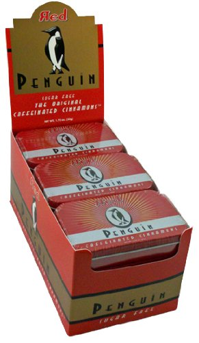 Penguin REDS Caffeinated Cinnamon Mints 12 tins