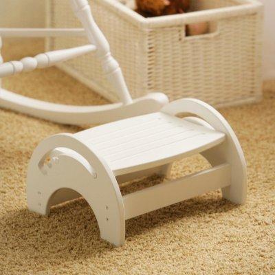KidKraft Nursing Foot stool adjustable white MPN: 15101