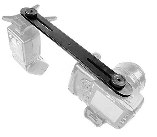 Goliton-Photo-Studio-Studio-Light-Stand-27cm-dual-flash-bracket-14-Screw-Hot-Shoe-Stands-Mounting-Camera-Accessories