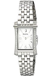 Bulova Women's 96R186 Analog Display Analog Quartz Two Tone Watch