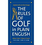 img - for [ The Rules of Golf in Plain English, Third Edition Kuhn, Jeffrey S. ( Author ) ] { Paperback } 2012 book / textbook / text book